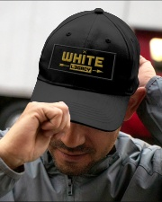 White Legacy Embroidered Hat garment-embroidery-hat-lifestyle-01