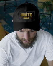 White Legacy Embroidered Hat garment-embroidery-hat-lifestyle-06