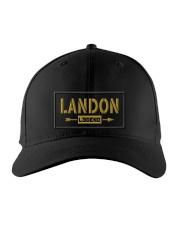Landon Legend Embroidered Hat front