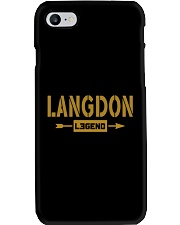 Langdon Legend Phone Case thumbnail