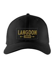 Langdon Legend Embroidered Hat front