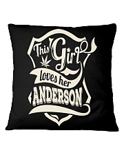 ANDERSON 07 Square Pillowcase thumbnail