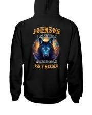 JOHNSON Rule Hooded Sweatshirt back