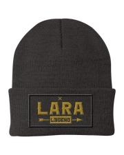 Lara Legend Knit Beanie front
