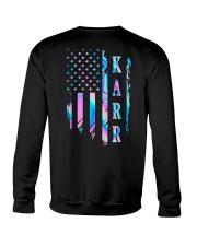 Karr Flag Crewneck Sweatshirt back