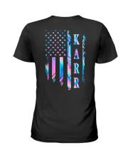 Karr Flag Ladies T-Shirt thumbnail