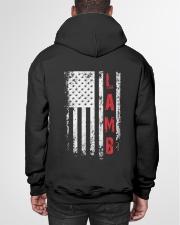 LAMB 01 Hooded Sweatshirt garment-hooded-sweatshirt-back-01