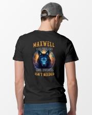 MAXWELL Rule Classic T-Shirt lifestyle-mens-crewneck-back-6