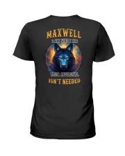 MAXWELL Rule Ladies T-Shirt thumbnail