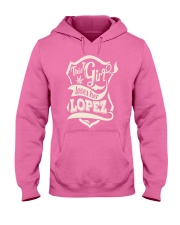 LOPEZ 07 Hooded Sweatshirt front