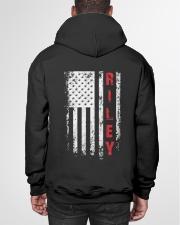 RILEY 01 Hooded Sweatshirt garment-hooded-sweatshirt-back-01
