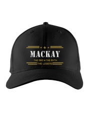 MACKAY Embroidered Hat front