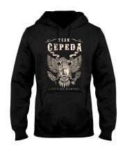 CEPEDA 03 Hooded Sweatshirt front