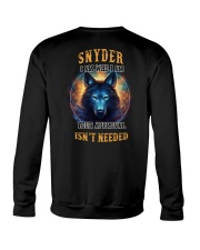 SNYDER Rule Crewneck Sweatshirt thumbnail