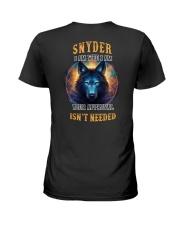 SNYDER Rule Ladies T-Shirt thumbnail