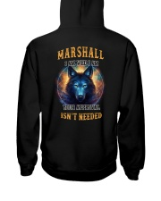 MARSHALL Rule Hooded Sweatshirt back