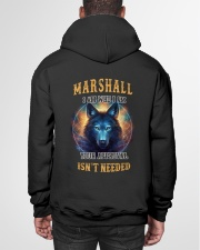 MARSHALL Rule Hooded Sweatshirt garment-hooded-sweatshirt-back-01