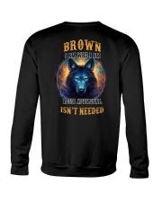 BROWN Rule Crewneck Sweatshirt thumbnail