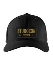 Sturgeon Legend Embroidered Hat front
