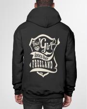 FREELAND with love Hooded Sweatshirt garment-hooded-sweatshirt-back-01