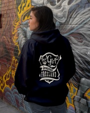 FREELAND with love Hooded Sweatshirt lifestyle-unisex-hoodie-back-1