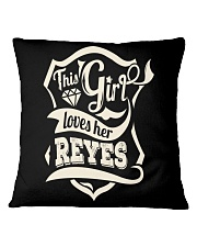 REYES 007 Square Pillowcase thumbnail
