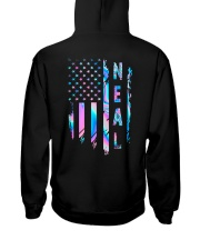 Neal Flag Hooded Sweatshirt back