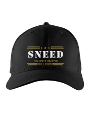 SNEED Embroidered Hat front