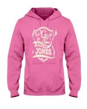 JONES girl Hooded Sweatshirt front