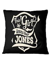 JONES girl Square Pillowcase thumbnail