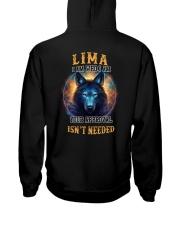 LIMA Rule Hooded Sweatshirt back