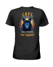 CAVE Rule Ladies T-Shirt thumbnail