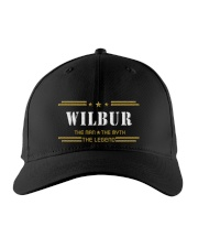 WILBUR Embroidered Hat front