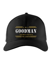 GOODMAN Embroidered Hat front