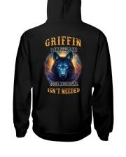 GRIFFIN Rule Hooded Sweatshirt back