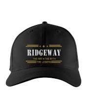 RIDGEWAY Embroidered Hat front