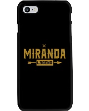 Miranda Legend Phone Case tile
