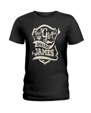 JAMES 007 Ladies T-Shirt front