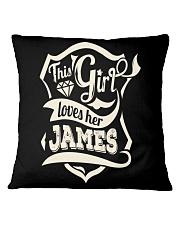 JAMES 007 Square Pillowcase thumbnail