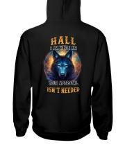 HALL Rule Hooded Sweatshirt back