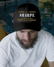 SHARPE  Embroidered Hat garment-embroidery-hat-lifestyle-06