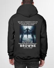 BROWNE Storm Hooded Sweatshirt garment-hooded-sweatshirt-back-01
