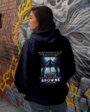 BROWNE Storm Hooded Sweatshirt lifestyle-unisex-hoodie-back-1