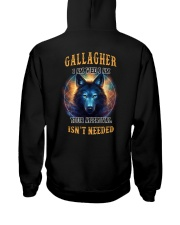 GALLAGHER Rule Hooded Sweatshirt back