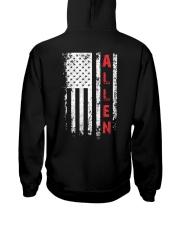 ALLEN 01 Hooded Sweatshirt back