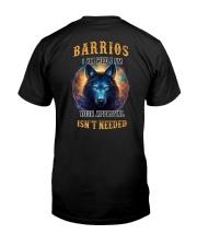 BARRIOS Rule Classic T-Shirt thumbnail