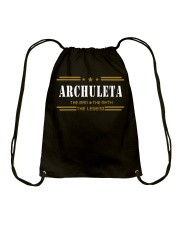 ARCHULETA Drawstring Bag tile