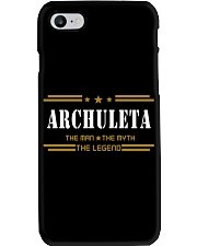 ARCHULETA Phone Case tile