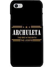 ARCHULETA Phone Case tile