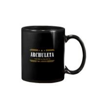ARCHULETA Mug tile